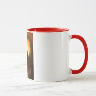 fancy girl portait  Mug