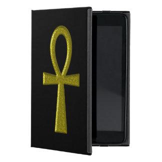 Fancy Gold Ankh Case For iPad Mini