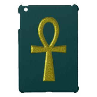 Fancy Gold Ankh iPad Mini Cases