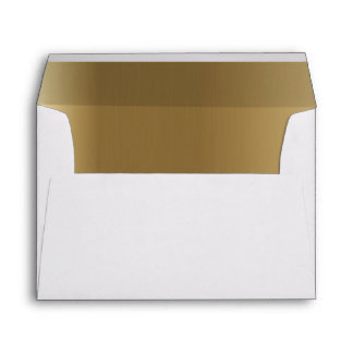 Fancy Gold Printed & Mailing Envelopes | Zazzle