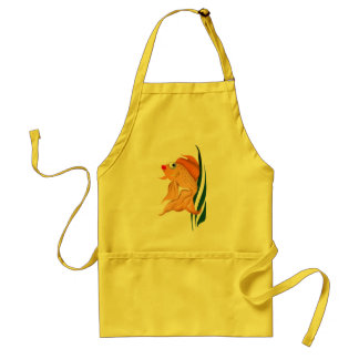 Fancy Gold Fish Apron