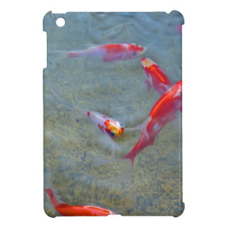 fancy gold fish iPad mini case