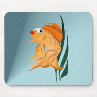 Fancy Gold Fish Mousepad