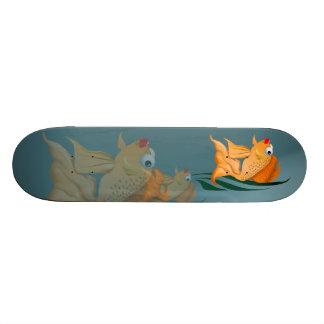 Fancy Gold Fish Skateboard