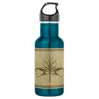 Fancy Golden Mark Water Bottle