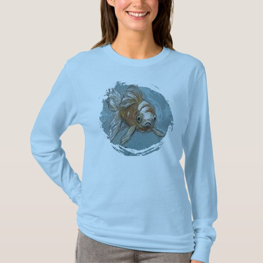 Fancy Goldfish Art Shirt