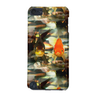 Fancy Goldfish Faces Watercolor Image iPod Touch 5G Cases