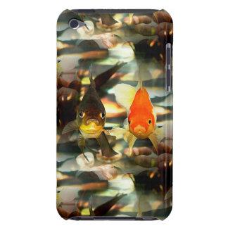 Fancy Goldfish Faces Watercolor Image iPod Touch Case-Mate Case