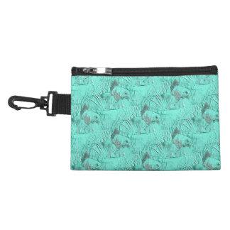Fancy Goldfish Seafoam Green Accessory Bag