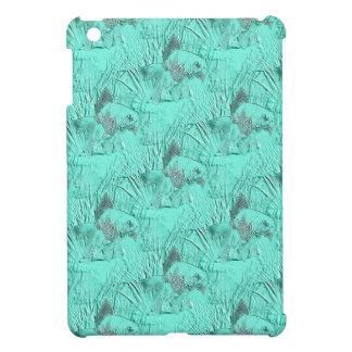Fancy Goldfish Seafoam Green Case For The iPad Mini
