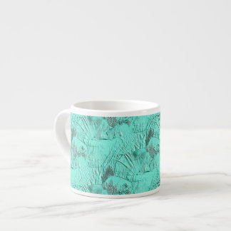Fancy Goldfish Seafoam Green Espresso Cup