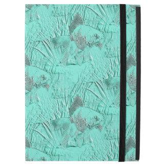 Fancy Goldfish Seafoam Green iPad Pro Case
