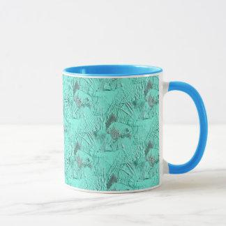 Fancy Goldfish Seafoam Green Mug