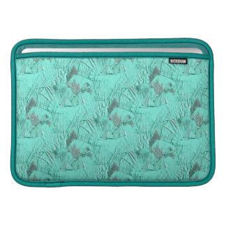 Fancy Goldfish Seafoam Green Sleeve For MacBook Air