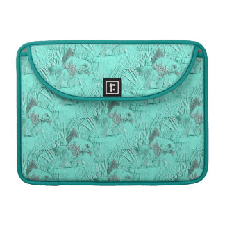 Fancy Goldfish Seafoam Green Sleeve For MacBooks