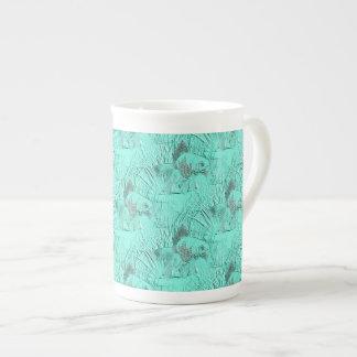 Fancy Goldfish Seafoam Green Tea Cup