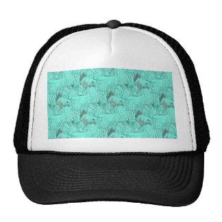 Fancy Goldfish Seafoam Green Trucker Hat