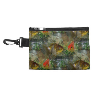 Fancy Goldfish Shimmer Accessory Bag