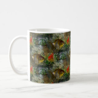 Fancy Goldfish Shimmer Coffee Mug