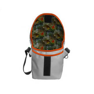 Fancy Goldfish Shimmer Courier Bag