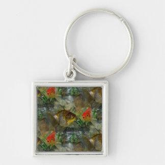 Fancy Goldfish Shimmer Keychain