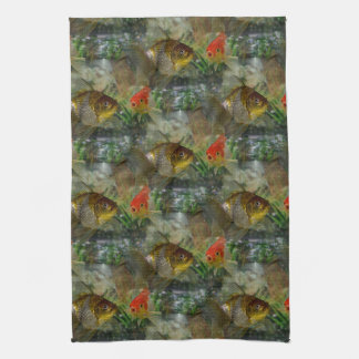 Fancy Goldfish Shimmer Towels