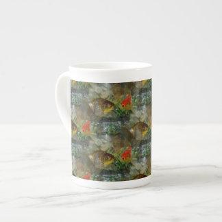 Fancy Goldfish Shimmer Tea Cup