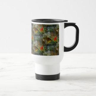 Fancy Goldfish Shimmer Travel Mug