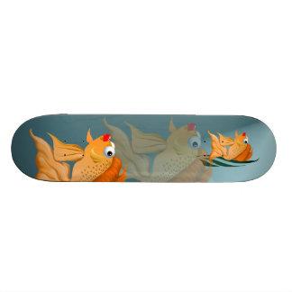 Fancy Goldfish Skateboard