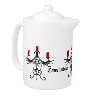 Fancy gothic candelabra