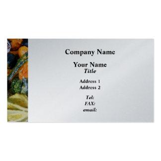 Fancy Gourds - Platinum Finish Business Card