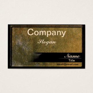 Fancy Granite Business Card