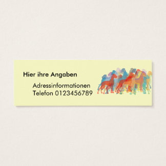 Fancy Great Danes Mini Business Card