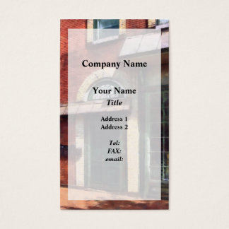 Fancy Green Door Burlington NJ Business Card