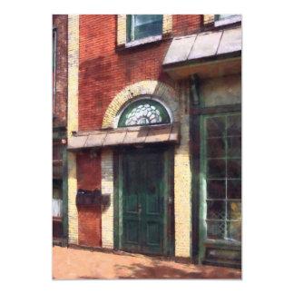 Fancy Green Door Burlington NJ Personalized Announcements