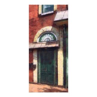 Fancy Green Door Burlington NJ Rack Card