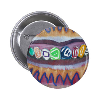 fancy grill 2 inch round button