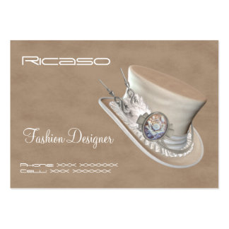 Fancy Hat Large Business Cards (Pack Of 100)