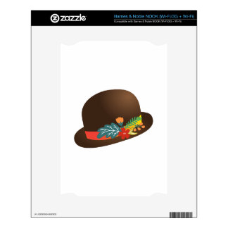 Fancy Hat Decal For NOOK