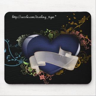 Fancy Heart Mousepad