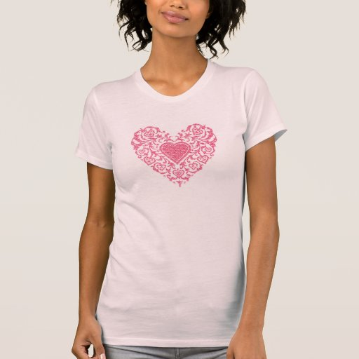 Fancy Heart Tee Shirt