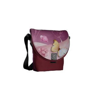 Fancy Hearts Courier Bag