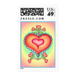 FANCY HEARTS & LACE by SHARON SHARPE Postage