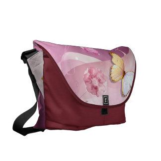 Fancy Hearts Messenger Bag