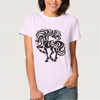 Fancy Horse Design T-shirt