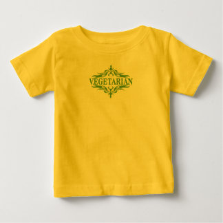 Fancy In Green - Vegetarian Baby T-Shirt