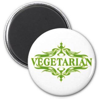 Fancy In Green - Vegetarian Magnet