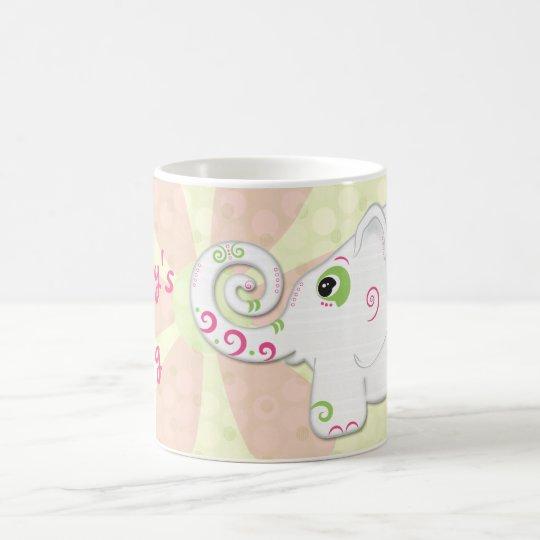 Fancy Indian Style Elephant Personalized Mug