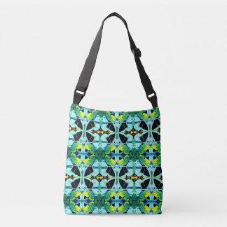 Fancy Kaleidoscope Butterfly Image Designed Crossbody Bag