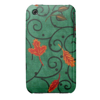 Fancy Leaves iPhone 3 Case-Mate Cases